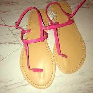 Girls size 3 pink Gap sandals | Never worn